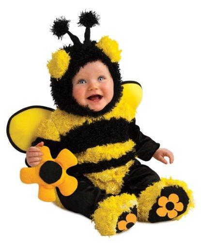 Rubie'S Costume Noah'S Ark Buzzy Bee Romper Costume (6-12 Months) front-106321