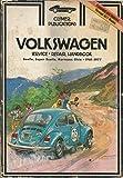 Volkswagen Service - Repair Handbook - Beetle, Super Beetle, Karmann Ghia - 1961-1977