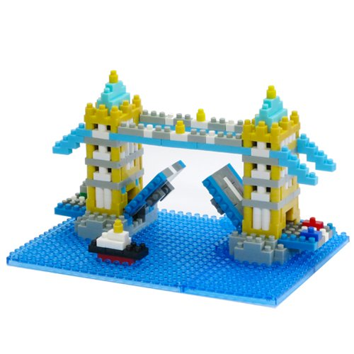 Nanoblock NBH-065 TOWER BRIDGE London UK