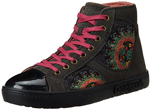 Desigual-Womens-Luxor-1-Dark-Grey-Leather-Boots