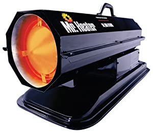 Mr. Heater 50,000 BTU Kerosene Forced-Air Heater #MH50K by Kerosene Heaters