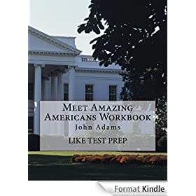 Meet Amazing Americans Workbook: John Adams (English Edition)