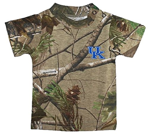 Kentucky Wildcats Camouflage NCAA College Toddler Baby T-Shirt Tee