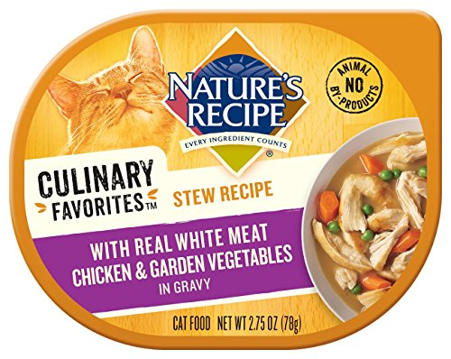 Nature's Recipe Culinary Favorites Stew Recipe With Real White Meat Chicken & Garden Vegetables In Gravy