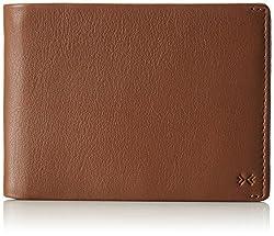 Skagen Men's Joakim Passport Wallet, Saddle, One Size
