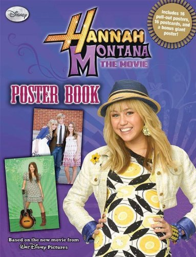 hannah-montana-the-movie-poster-book-by-disney-book-group-2009-03-10