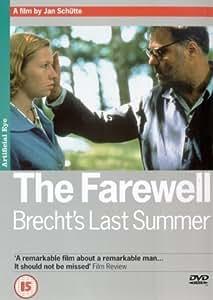 The Farewell - Brecht's Last Summer [DVD] [2001]