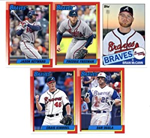 2013 Topps Archives Baseball Cards Team Set - Atlanta Braves (10 Cards) : Tim Hudson... by Topps