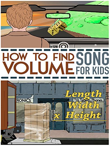The Volume Song For Kids | Measuring Volumetrics of Rectangular 3D SHAPES.