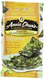 Annie Chuns Seaweed Snacks, Roasted Sesame, 0.35-Ounce Packages (Pack of 12)