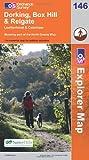 Explorer 146 Dorking, Box Hill and Reigate (OS Explorer Map 146)