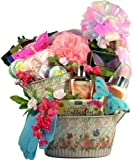 Gift Basket Village English Garden Collection Spa and Gourmet Gift Basket, Large