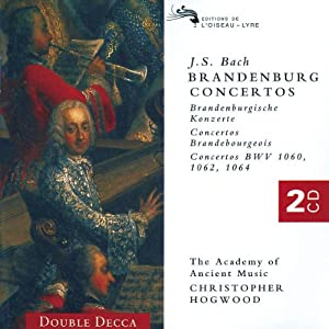 Bach Brandenburg Concertos 1-6 from Double Decca