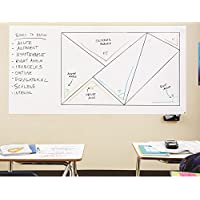 Fancy-fix Large Vinyl Removable Dry Erase Board