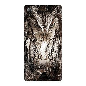 Wood Owl Back Case Cover for Xperia Z4