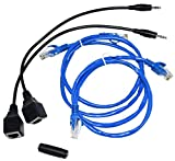 BAFX Products® - CAT5 Adapter Kit for BAFX Products IR Repeater Kit - 1 Year Warranty
