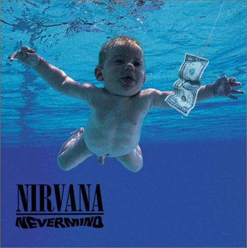 Original album cover of Nevermind by Nirvana