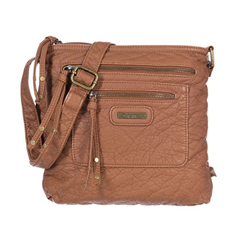 Animal Womens Breezy Cross-Body Bag Toffee Brown