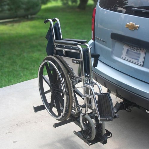 Prairie View Industries Hitch Mount Folding Wheelchair Carrier