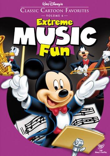 Classic Cartoon Favorites, Vol. 6 - Extreme Music Fun [DVD] [Region 1] [US Import] [NTSC]