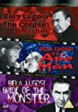 3 Classic Bela Lugosi - Vol. 2 - The Corpse Vanishes / The Ape Man / Bride Of The Monster [DVD]