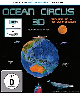 Ocean Circus 3D - underwater around the world [3D Blu-ray]