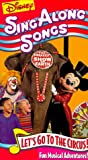 Disney Sing Along Songs - Lets Go to the Circus! [VHS]