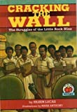Cracking the Wall: The Struggles of the Little Rock Nine [With Paperback Book]