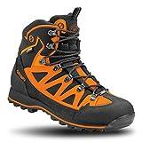 Crispi Scarpone Trekking Ascent Black Orange Gtx Nero 42