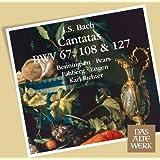 Bach, JS : Cantatas BWV Nos 67, 108 & 127