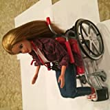 Barbie BECKY I'm The School Photographer! Doll with Wheelchair (1998) by Mattel