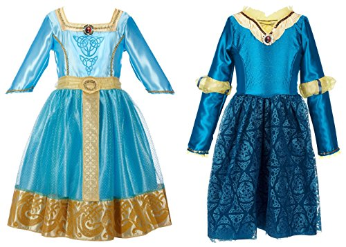 Disney Princess Brave Merida's Royal and Adventure Dresses