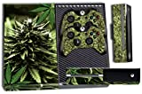 Designer Skin Sticker for the Xbox One Console With Two Wireless Controller Decals- Skunk Bud
