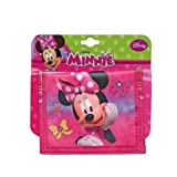 Disney Minnie Mouse Bow-tique Non-Woven Bifold Wallet