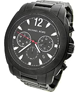 Michael Kors MK8282 Black Ion Plated Chronograph Watch