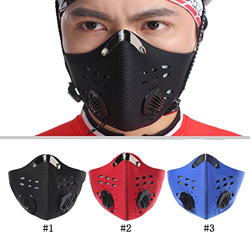 Meanhoo-Bike-Cycling-Anti-dust-Half-Face-Mask-with-Filter-Neoprene