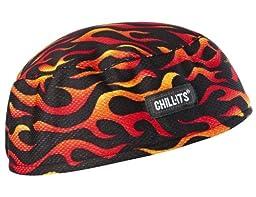 Ergodyne Chill-Its 6630 High-Performance Cap, Flames