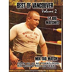 Best Of Vancouver Wrestling Vol 2