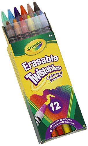 Crayola® Twistables® Erasable Colored Pencils 12-Pack