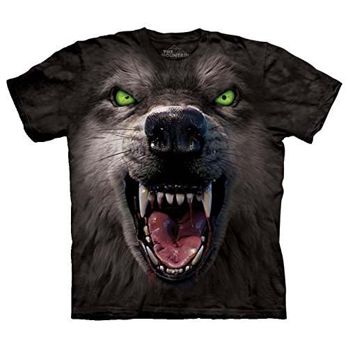 The Mountain Big Face Attack Wolf Adult