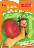 echange, troc Langue au chat - J'écris, je colle et je colorie