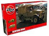 Airfix 1:48 Scale Bedford MWD Light Truck Model Kit by Hornby Hobbies Ltd