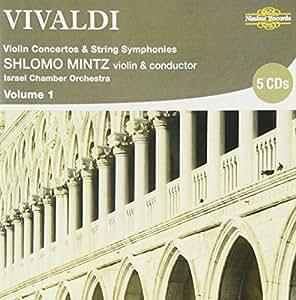 Vivaldi : Concertos pour violon, vol. 1 (+ Symphonies pour cordes). Mintz.