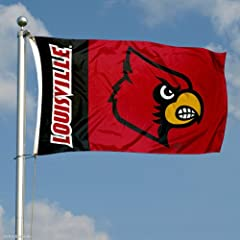 Buy Louisville Cardinals 3x5 Flag by College Flags and Banners Co.
