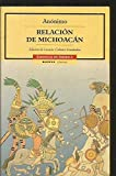 img - for Relacion de Michoacan (Cronicas De America) book / textbook / text book