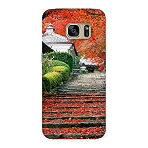 Special Stairs Garden Multicolor Back Case Cover for Galaxy S7