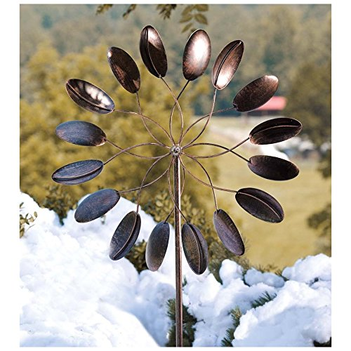 Kinetic Art Wind Spinner