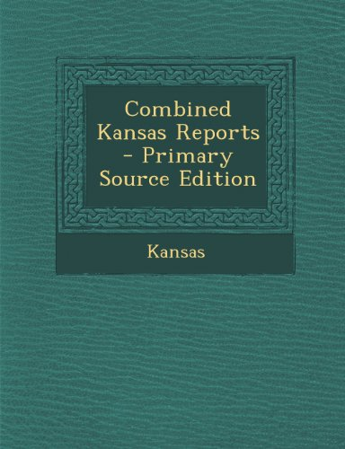 Combined Kansas Reports