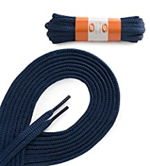 OVAL ATHLETIC Navy 45 inch Shoelaces 2 Pair Pack
