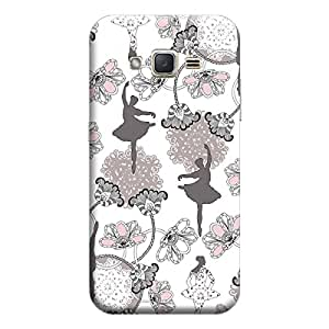 CaseLite Premium Printed Mobile Back Case Cover With Full protection For Samsung J3 (Designer Case)